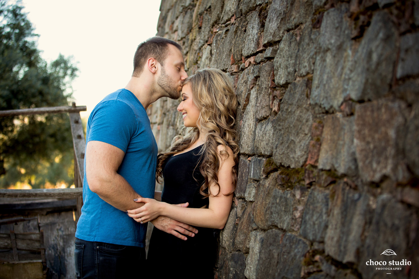 Castello di Amorosa Romantic Engagement Session