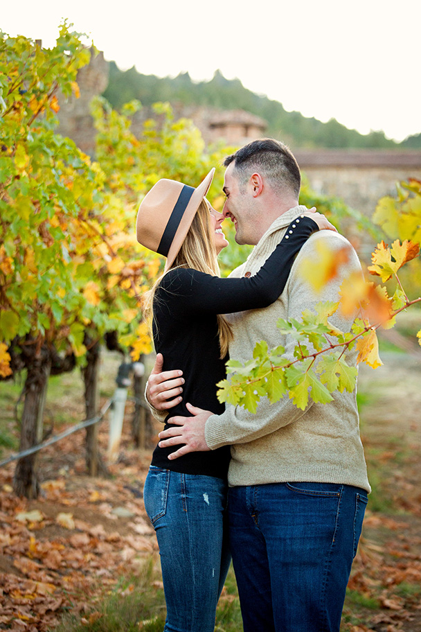 Castello di Amorosa Castle Engagement Photos