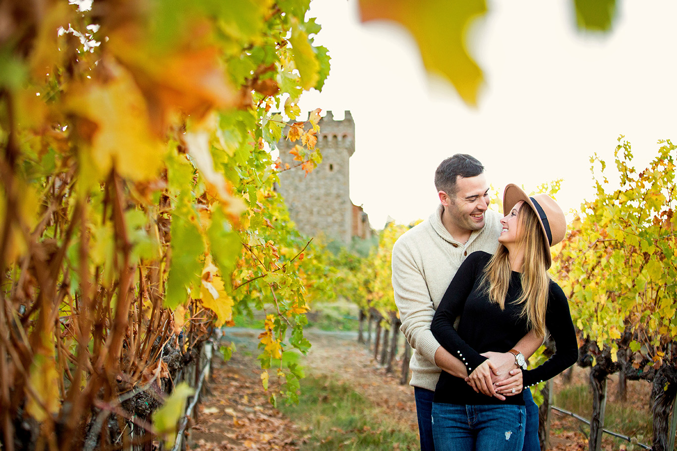 Castello di Amorosa Proposal in Calistoga