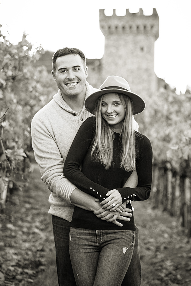 Calistoga Wedding Proposal at Castello di Amorosa