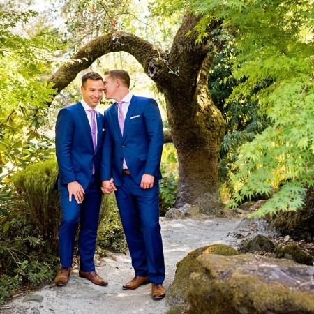 Two Grooms Getting Married at Arista Winery