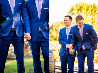Funny Moment at Arista Winery Ceremony