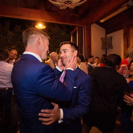 Two Grooms Get Married!