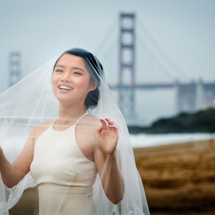 Yichao and Will City Hall Portrait