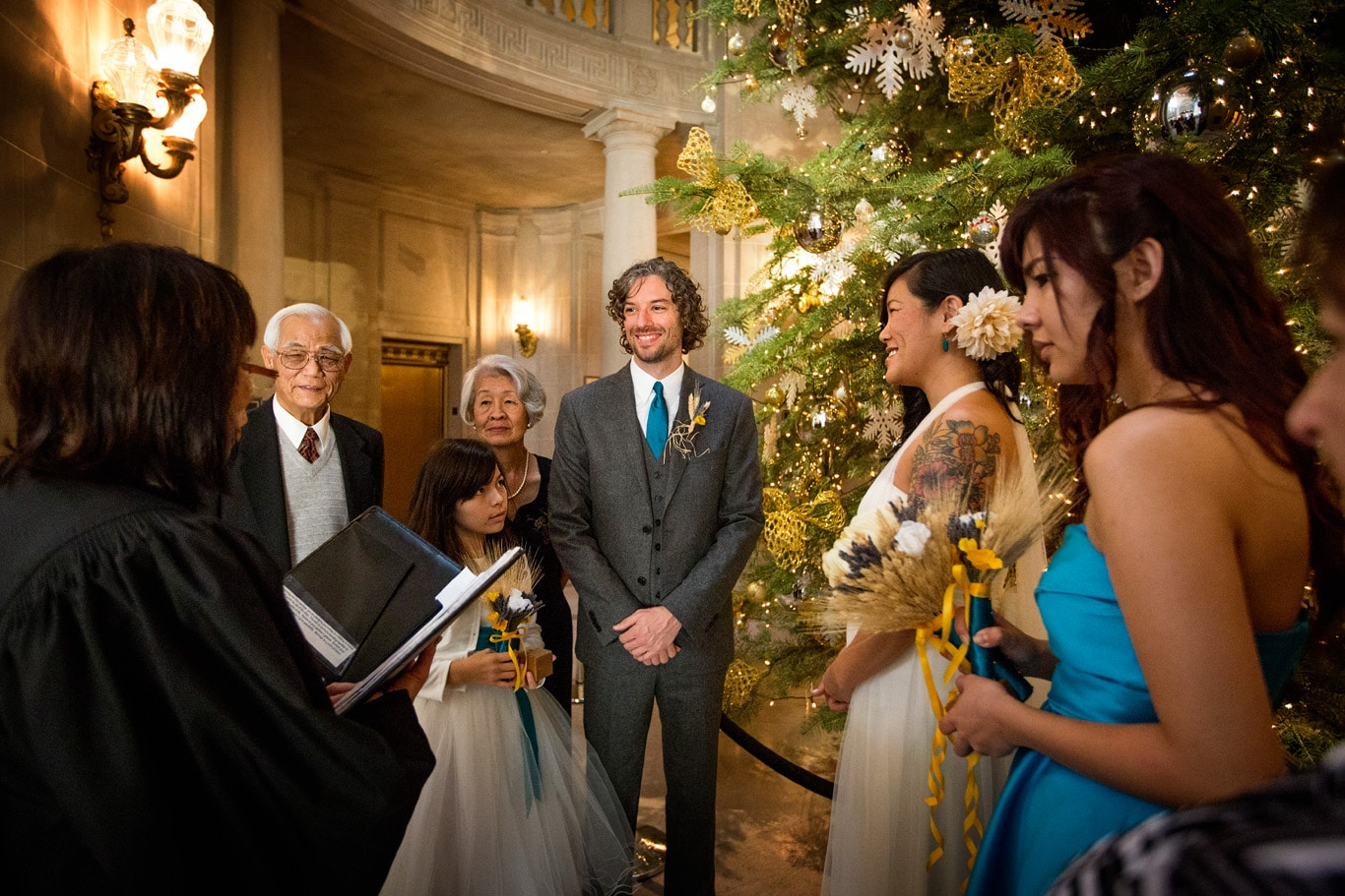 Standard Courthouse Wedding Vows at San Francisco City Hall