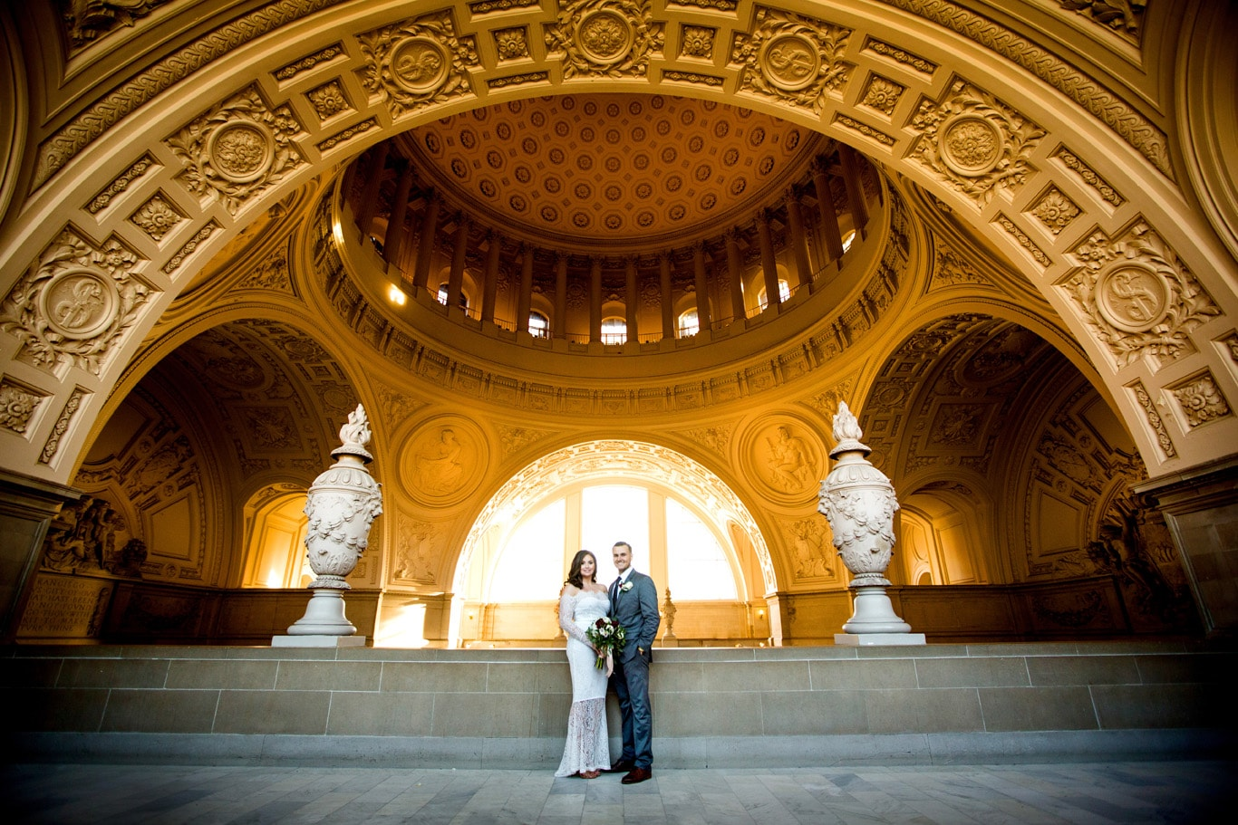City Hall Wedding Photo