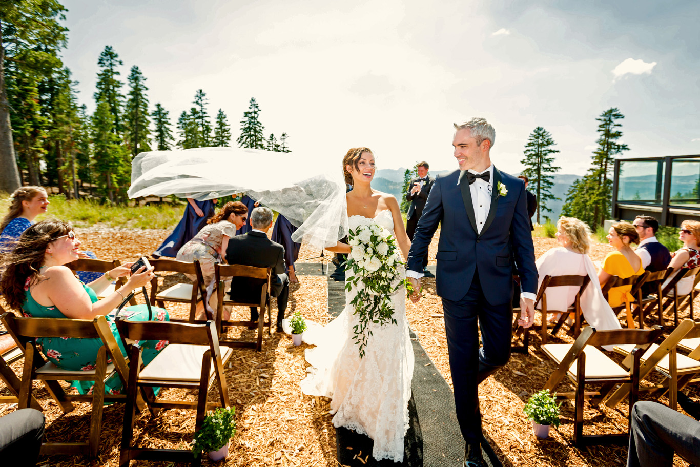 Outdoor Ceremony at Northstar Resort at Lake Tahoe