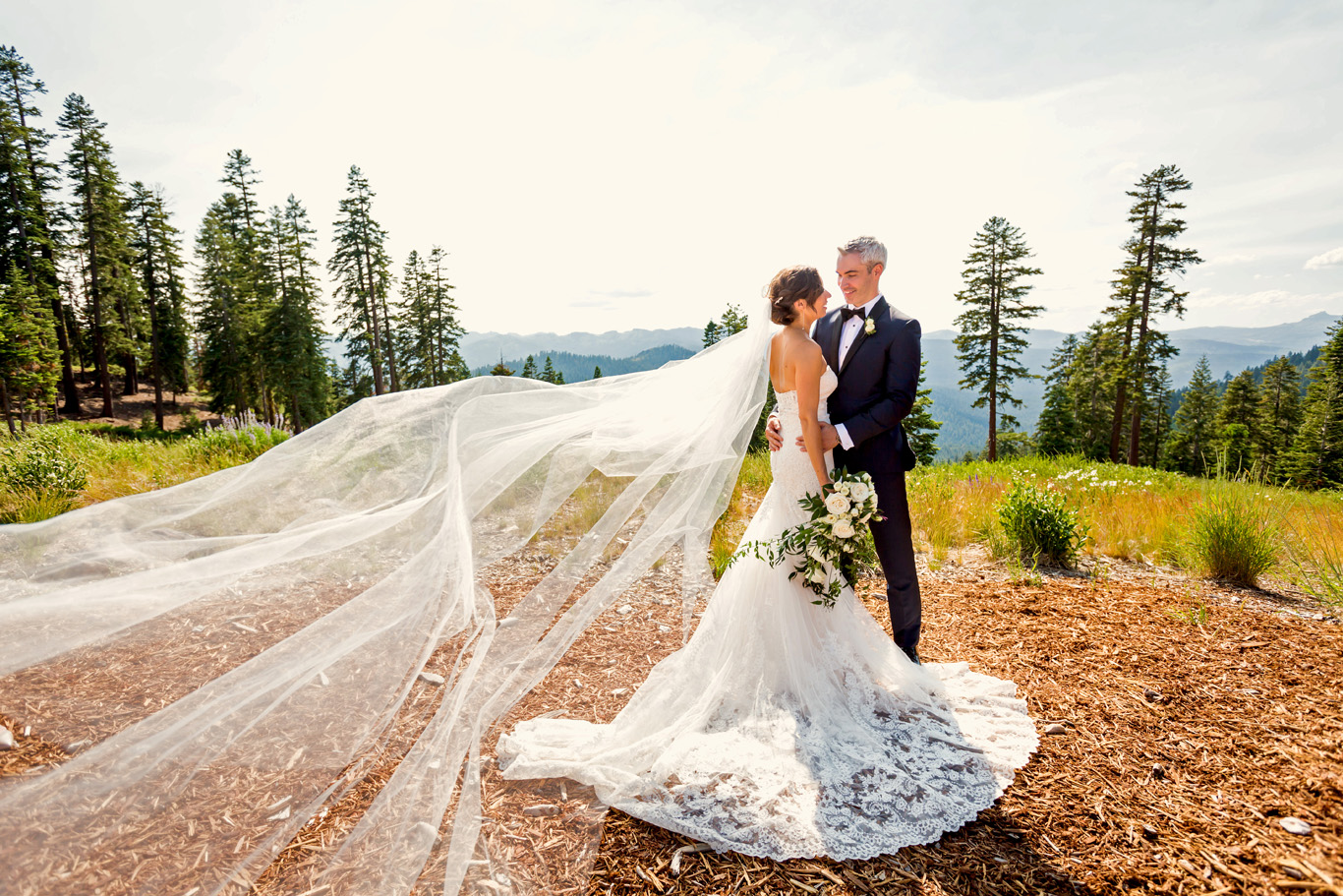 Couples Wedding Portraits at Northstar