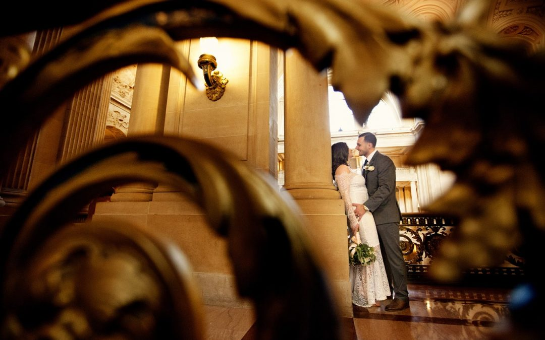 This Year's Favorite San Francisco City Hall Wedding Photos!
